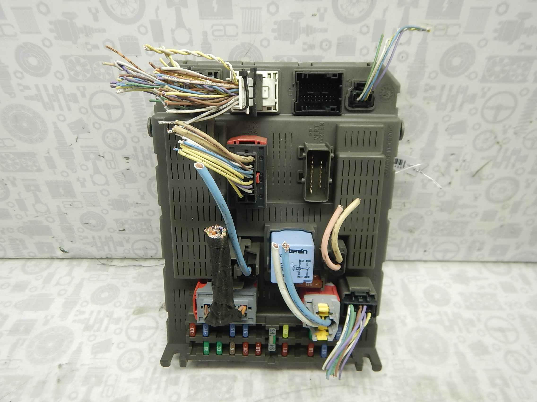 Блок комфорта Citroen C8 245045 preview-5