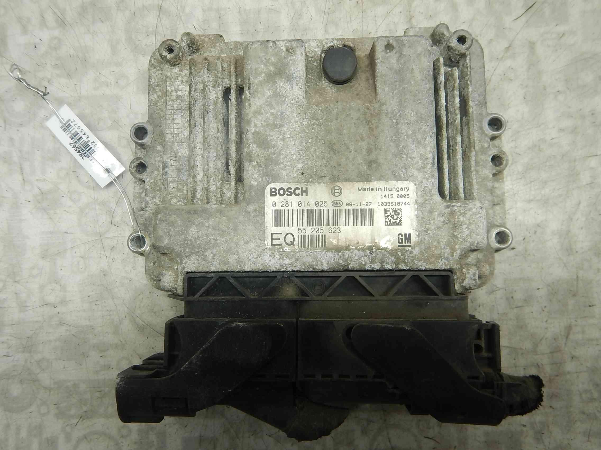 Блок управления двигателем Opel Astra H фото