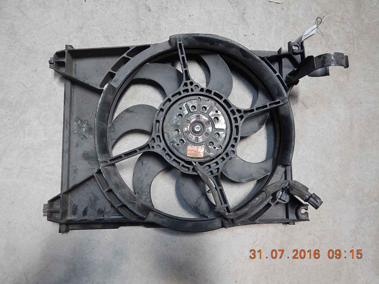 Вентилятор радиатора основного