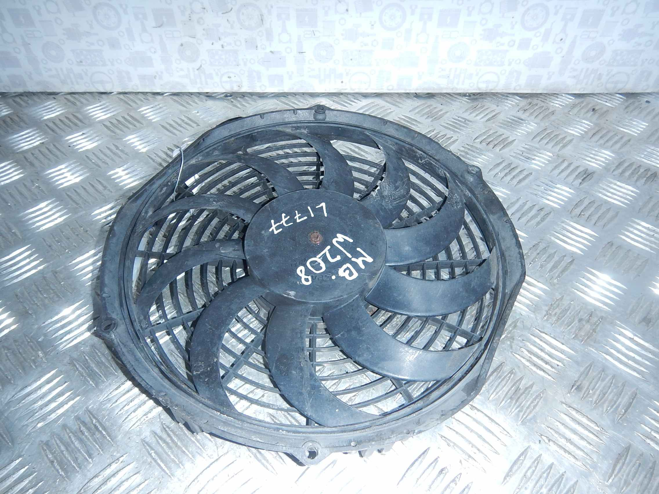 Вентилятор радиатора основного Mercedes W208 (CLK Class) фото