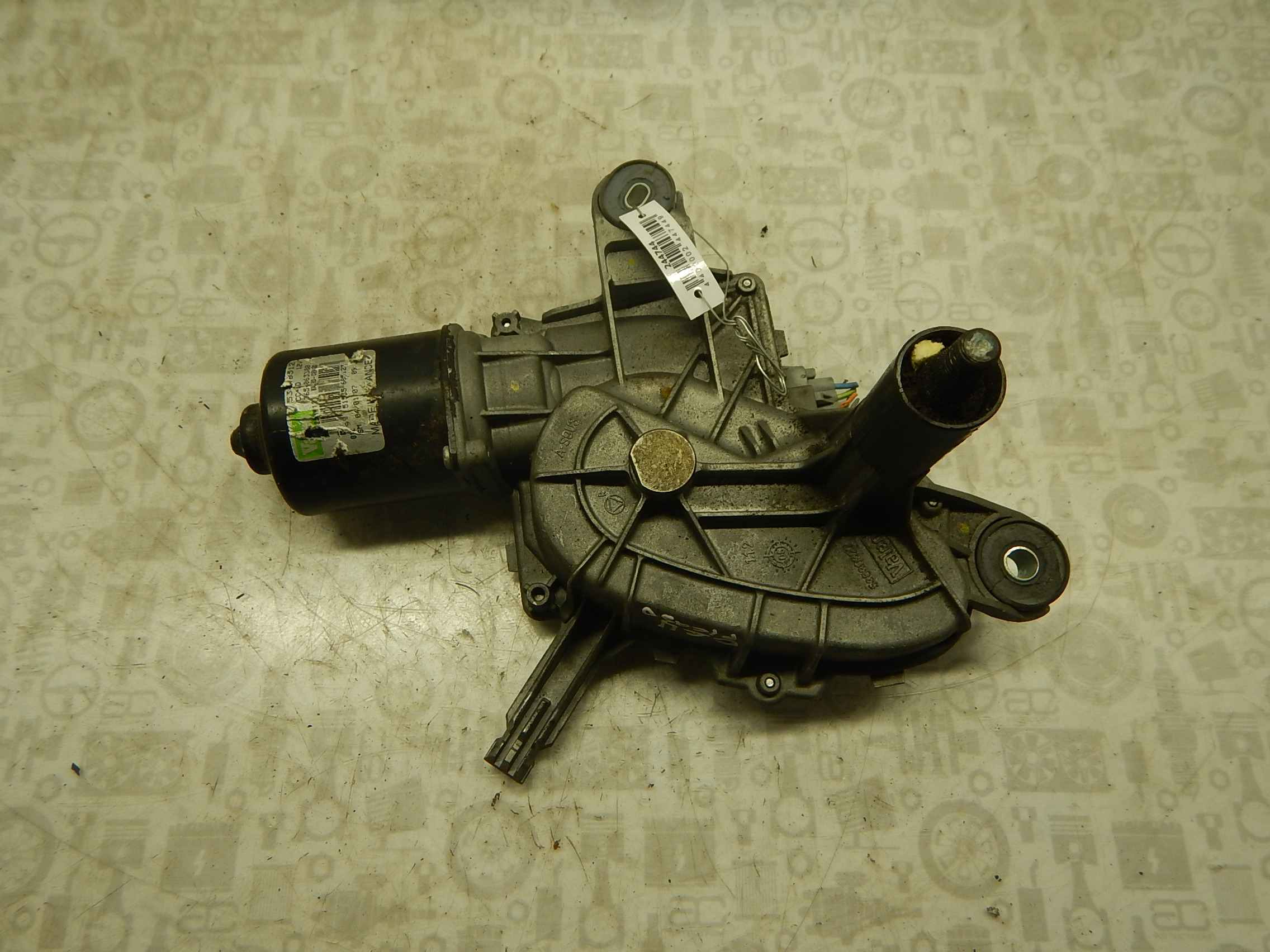Двигатель стеклоочистителя передний (моторчик дворников) Citroen C4 Picasso 1 фото