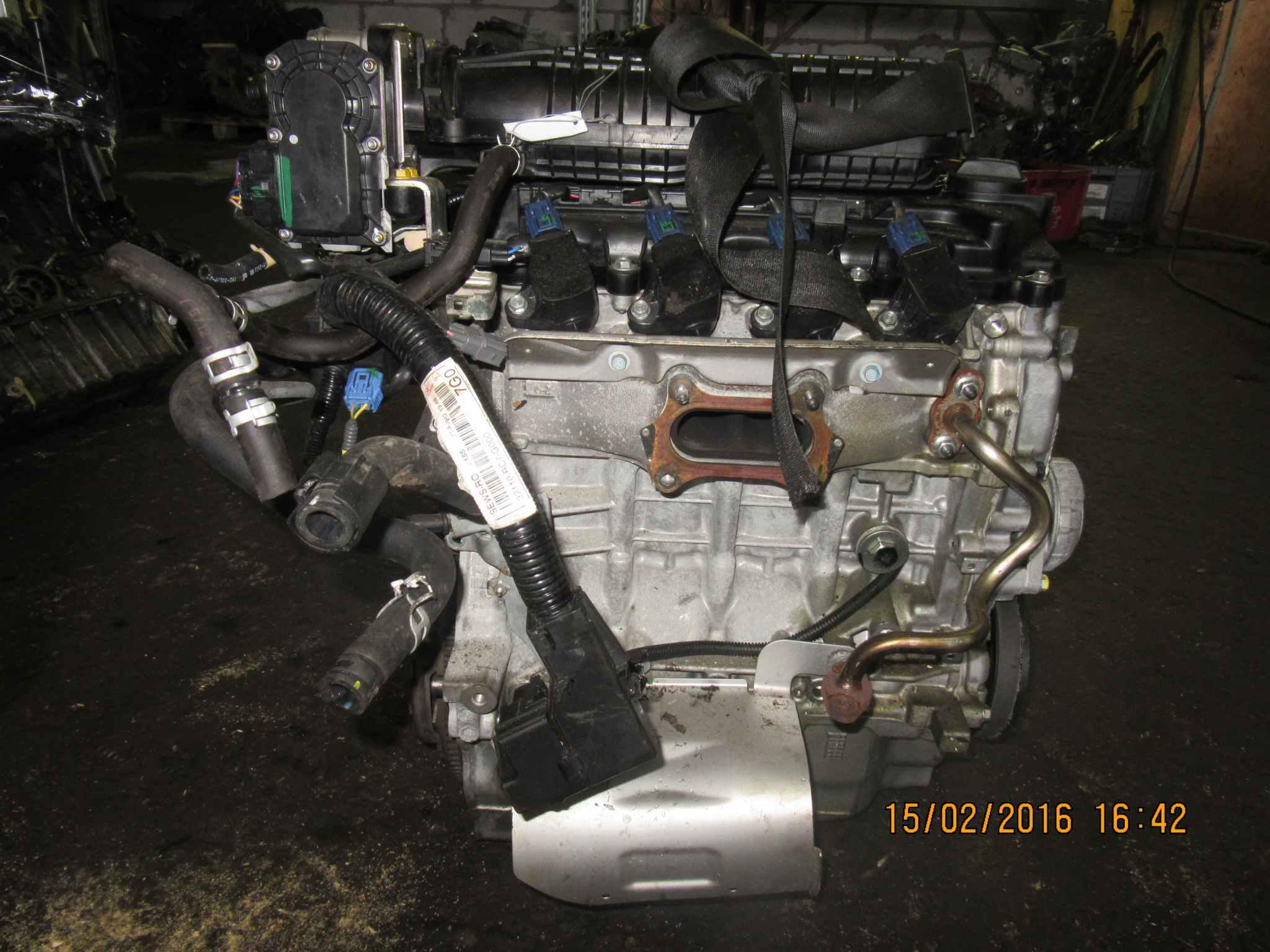 Двигатель (ДВС) Honda Jazz 2 149340 preview-3