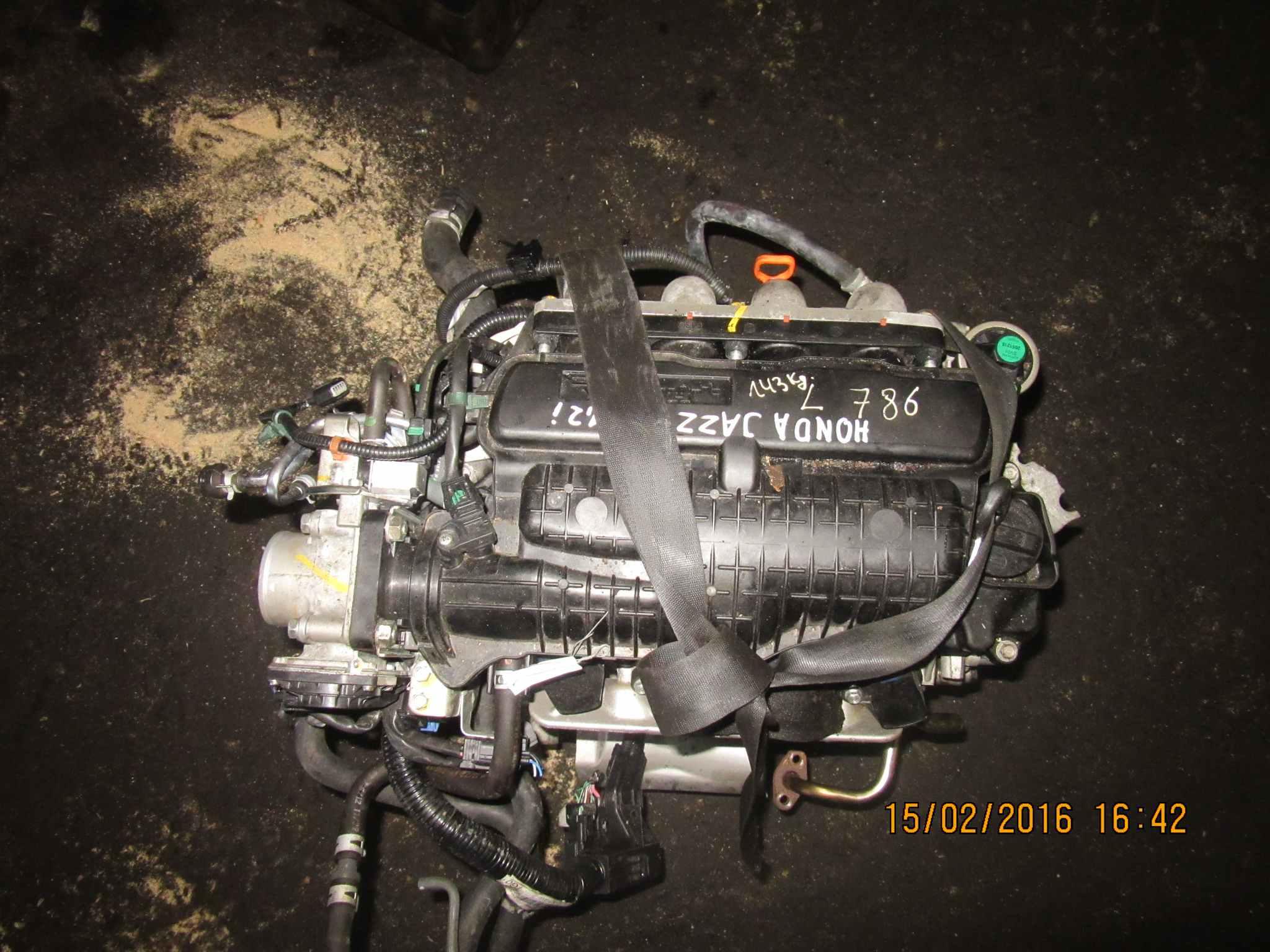 Двигатель (ДВС) Honda Jazz 2 149340 preview-5