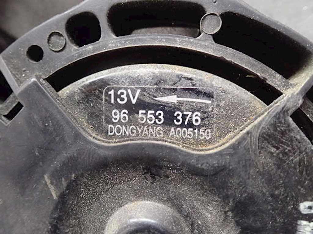 Вентилятор радиатора основного Chevrolet Lacetti фото