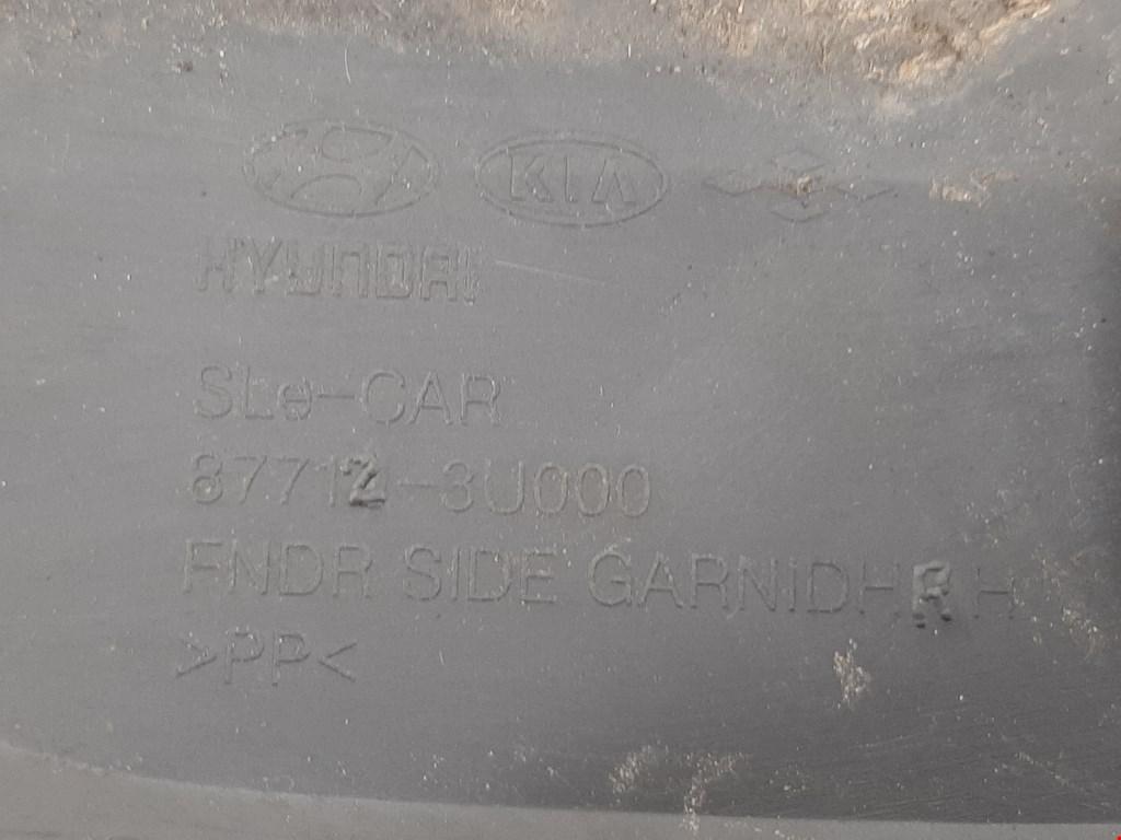 Накладка (молдинг) переднего правого крыла Kia Sportage 3