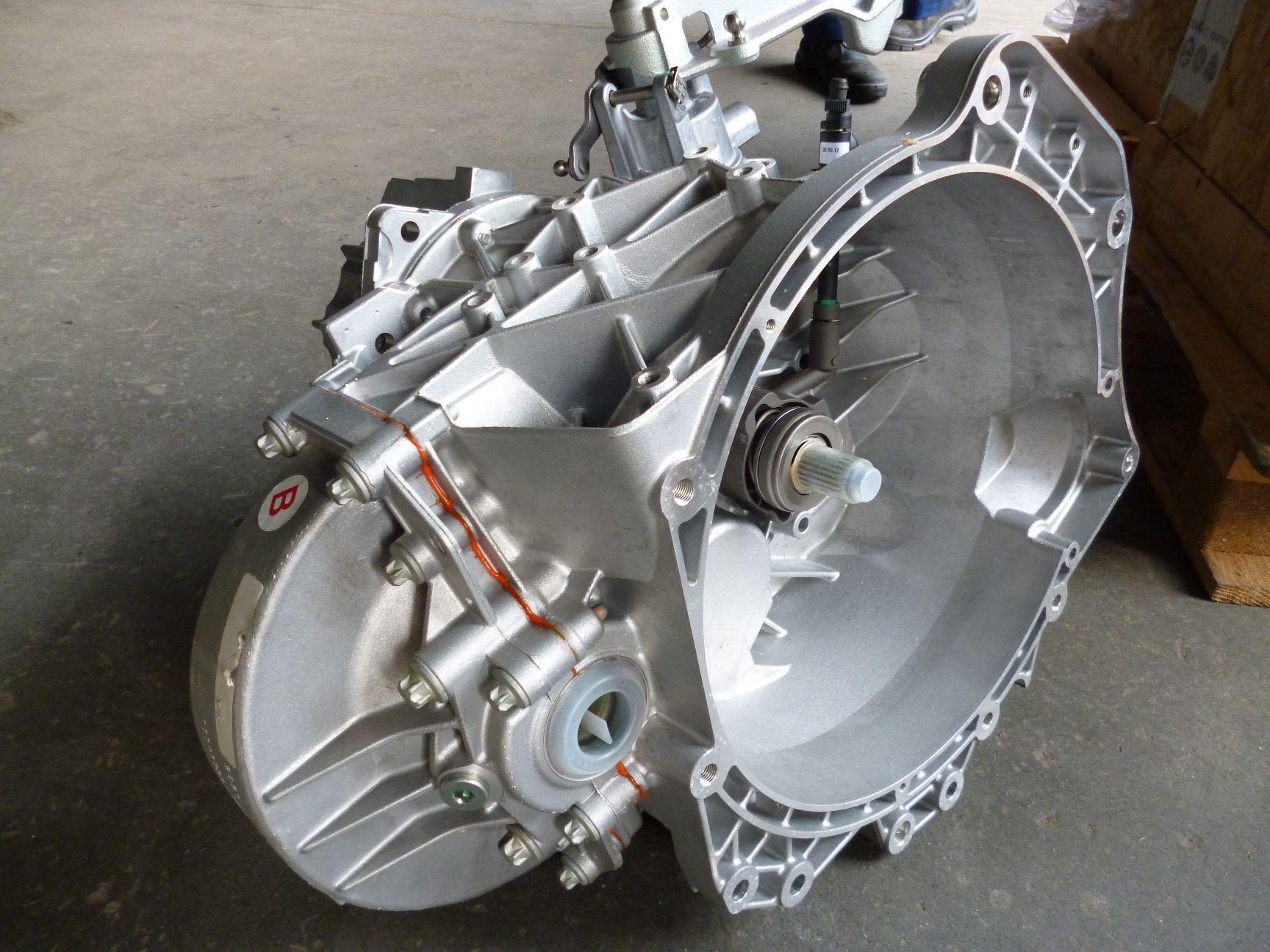 Fiat Ducato КПП