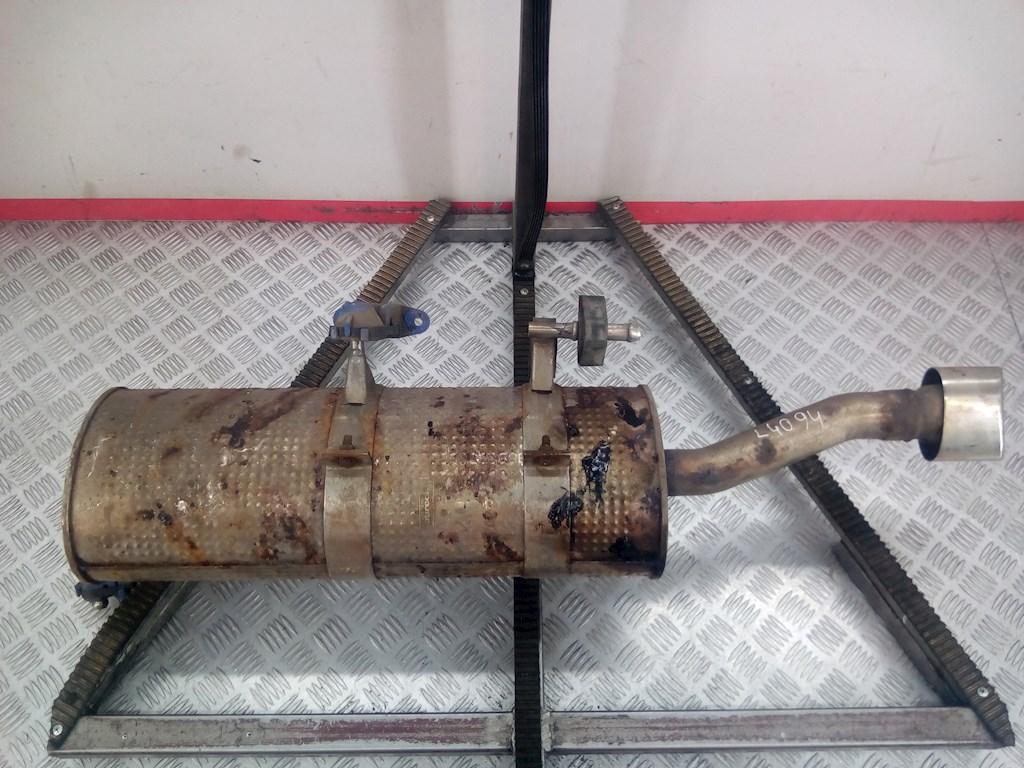Глушитель (выхлопная труба) задняя часть Peugeot 307