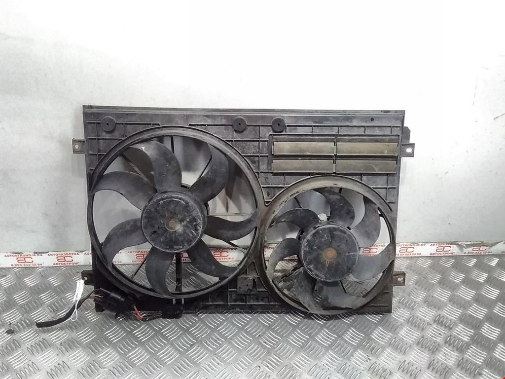 Вентилятор радиатора основного Volkswagen Passat 6 фото
